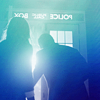 azarsuerte: the Doctor and his companion (probably 12 & Clara?) silhouetted against a light streaming through the TARDIS door (Doctor Who - Doctor and companion)