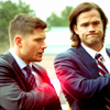 kate: Sam and Dean in suits (SPN: Sam n' Dean in suits)