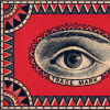 nightdog_barks: A man's eye looks out from a red frame something like a Ouija board (Trademark Eye)