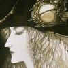 call_me_d: Vampire Hunter D, a beautiful pale man wearing a big hat (d, musing_way)