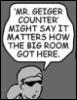 duckhunter: (Mr. Geiger Counter)