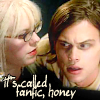 carodee: Criminal Minds, Reid stares horrified at screen, while Garcia says: Text:  It's called fanfic, honey. (CM Fanfic Honey)