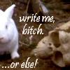 metemmods: (Write Me Bitch)
