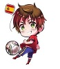 zaelle: Chibi Spain football (Spain football)