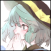 koishi_komeiji: Art by: po. (medamaoyazi) (05 Hands over Mouth)