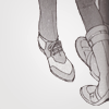 ninety6tears: Kotetsu & Barnaby (shoes) (Default)