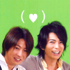 grayscale: (Aiba & Jun: ♥)