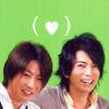 grayscale: (Aiba & Jun: ♥)