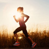 ofearthandstars: Photo of woman running in silhoeutte (running)