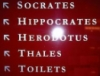 mefuselah: (socrates)