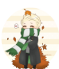purelyluck: (Draco Malfoy, Autumn, Chibi, Harry Potter, Fall) (Default)