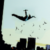 dubious: Nightwing jumping off buildings (Nightwing [DC])