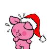 chekiita: (christmas pig)