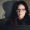 ses: (elementary - joan glasses laptop)