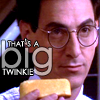 omorka: (Egon & the Twinkie)