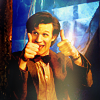 wildcard_47: (Doctor Who - two thumbs up, Doctor Who - thumbs up)