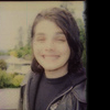 isweedan: Gerard with the dorkiest of smiles on his face. Circa 2005 (Gerard old school with a dorkface grin.)