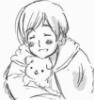 moimin_papa: (Smiling with Floweregg)