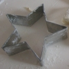 zirconium: snapshot of cookie cutter star from sorghum marshmallow making (star)