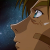 "go_dog_go: Vash from ""Trigun"" looking pensively up at the stars (trigun: stars)"