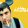 turlough: Frank Iero in Mouse hat looking grumpy, March 2009 ((mcr) frank stays brutal)
