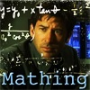 """hyperfocused: John Sheppard with equations all around him, """"mathing"""" (pic#8075219)"""
