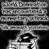 rain_and_snow: (world domination is setback)