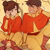 bisons: (Action: Jinora Smiles)