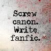 sazandra: (Write fanfic - yappichick)