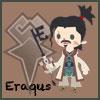 tyger: Eraqus' Avatar Kingdom chibi. Text: Eraqus (Master Eraqus - chibi)