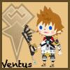 tyger: Ven's Avatar Kingdom chibi. Text: Ventus (Ven - chibi)