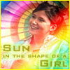 "sweet_sparrow: Picture of Kaylee(Firefly) with the text ""Sun in the shape of a girl"". (E: Happy)"