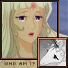 "sweet_sparrow: Amalthea (The Last Unicorn) in both her shapes with the text ""Who am I?"". (P: Questioning)"
