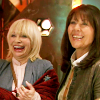 thingswithwings: Sarah Jane and Jo laughing and happy together (SJA - SJ and Jo laughing and happy)