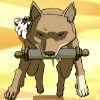 arduinna: a wolf from Avatar, carrying a scroll in its mouth (messenger wolf)