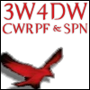 "supernatural_threeweeks: bird from S4 title card with text: ""3W4DW CWRPF & SPN"" (3w4dw spncwrpf)"
