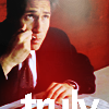 """wendelah1: Mulder eating pie, word """"Truly"""" (Truly)"""