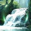 yourlibrarian: Small Green Waterfall (NAT-Waterfall-niki_vakita)