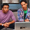 sophinisba: Troy and Abed from Community sitting on a couch with a computer in front of them (troy abed by carly-icons)