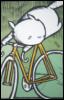 narayume: (meep biking)