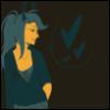 equinox_satier: Vriska wearing Kanaya's Slyph of Space hoodie (Kanaya's hoodie, Slyph of Space, Vriska, Vriskan)