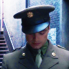 recessional: Bucky Barnes in his dress uniform from Captain America: The First Avenger (film; lost dream)