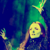 scaramouche: Kerry Ellis as Elphaba from Wicked (elphaba reaching)