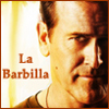 "arduinna: Sam Axe from Burn Notice, with the words ""La  Barbilla"" (Sam Axe)"