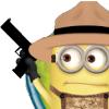 drewkitty: minion with brandished handgun (minion)