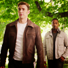 such_heights: sam and steve standing side by side (mcu: sam/steve [when do we start?])