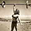 catchmyfancy: (beach weightlifter)