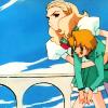 cypsiman2: Nanami saving her Ninja Butler from himself. (Nanami and Tsuwabuki)