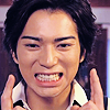 tani: A fake smile from Ban (from Bambino, played by Matsujun) (Fake smile Matsujun)