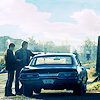 metonomia: (on the road again, Winchesters)